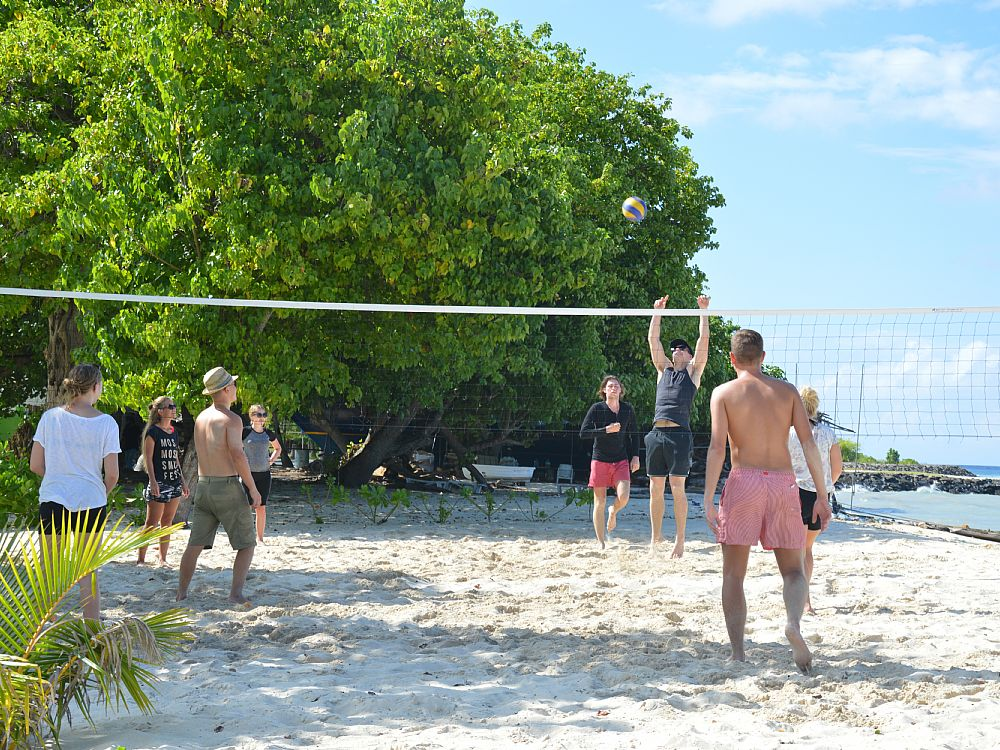 Beachvolley på Velidhoo