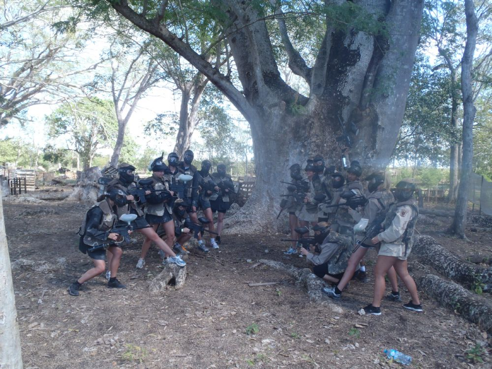Paintball i Campeche